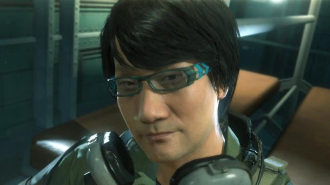 Hideo Koijma in Metal Gear Solid V