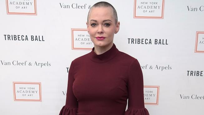 Rose McGowan al Tribeca Ball