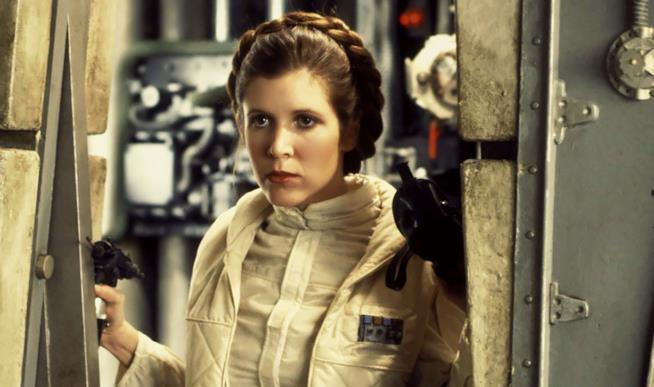 Carrie Fisher è la Principessa Leia