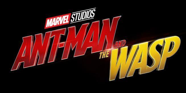 Il logo di Ant-Man and the Wasp di Marvel