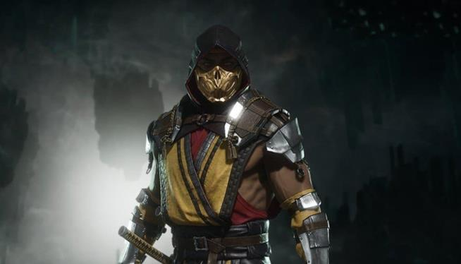 Scorpion in Mortal Kombat 11