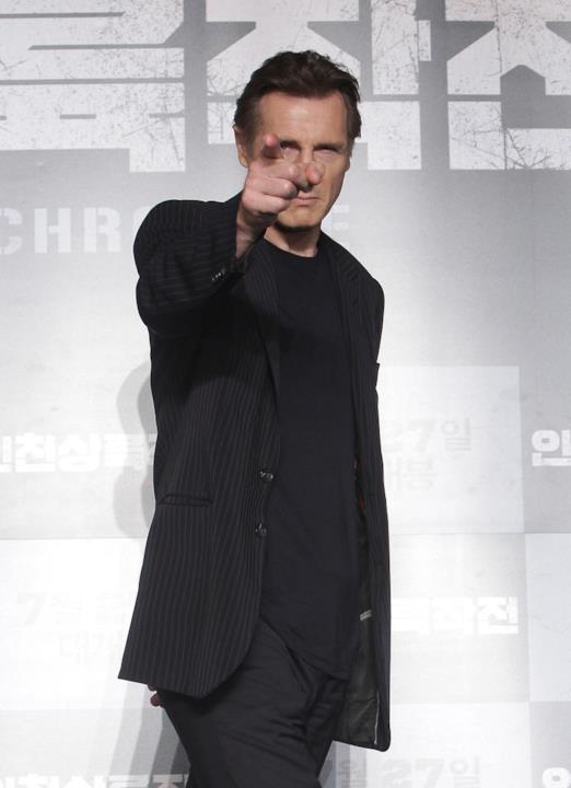 Liam Neeson in Corea