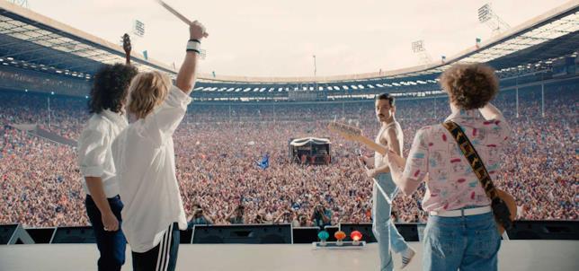 La performance finale in Bohemian Rhapsody
