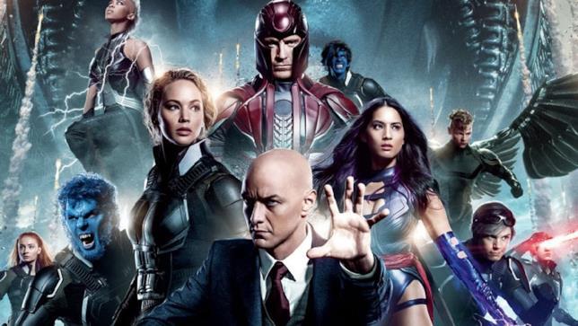 Un'immagine promozionale di X-Men: Apocalypse