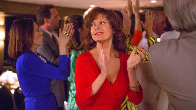 Susan Sarandon durante una scena del film