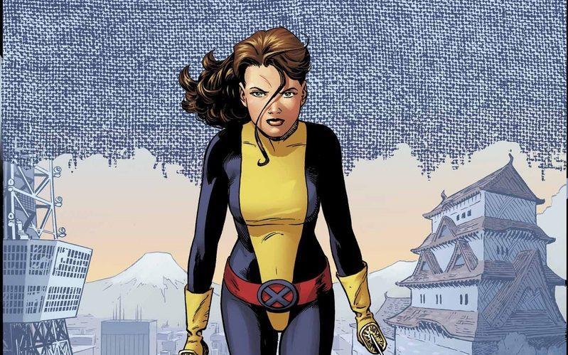 Kitty Pride con il costume degli X-Men
