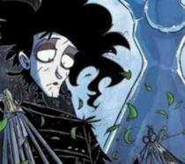 Un'immagine di Edward in versione fumetto
