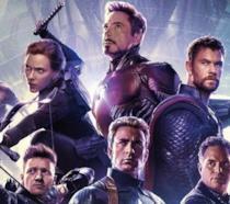 I protagonisti di Avengers: Endgame nel poster del film