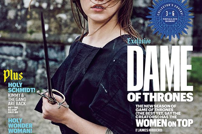 Maisie Williams è Arya Stark sulla copertina di EW