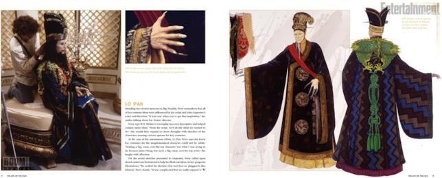 I costumi di Lo Pan da The Art Of Big Trouble In Little China