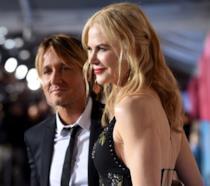 Primo piano di Nicole Kidman e Keith Urban