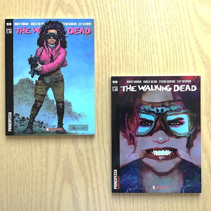 Le altre due edizioni di The Walking Dead 59