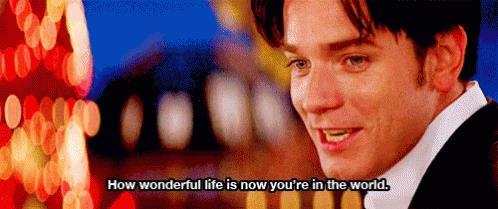 Frase da Moulin Rouge!