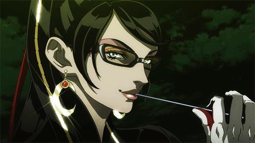 Il lato più seducente di Bayonetta in una GIF