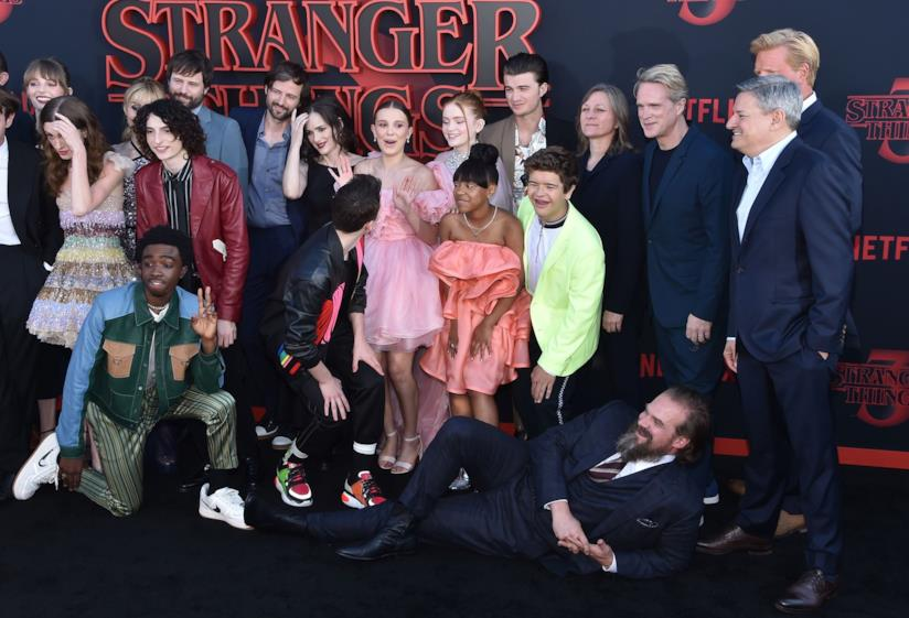 Stranger Things: il cast