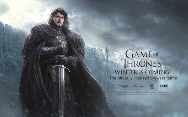 Jon Snow in Game of Thrones: Winter is Coming