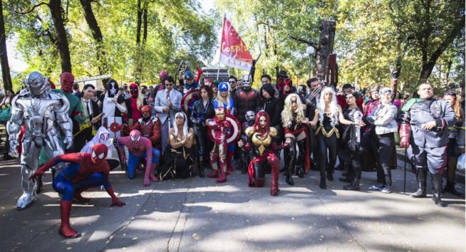 Anche i supereroi partecipano a Lucca Comics & Games
