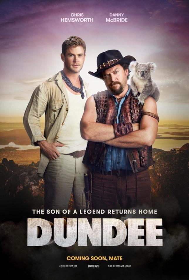 Il poster del sequel di Dundee