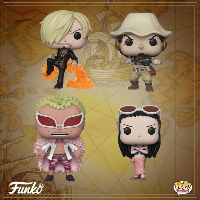 One Piece Funko Pop nuovi personaggi
