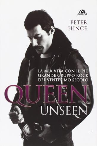 La cover del libro di Peter Hince, Queen Unseen