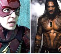 Ezra Miller è The Flash e Jason Momoa è Aquaman