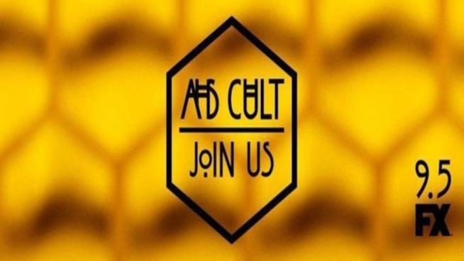AHS Cult: il banner con il titolo della settima stagione