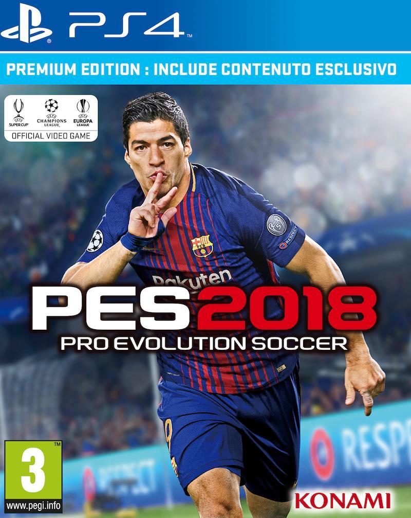 Luis Suárez sarà l'atleta di copertina per l'Europa in PES 2018