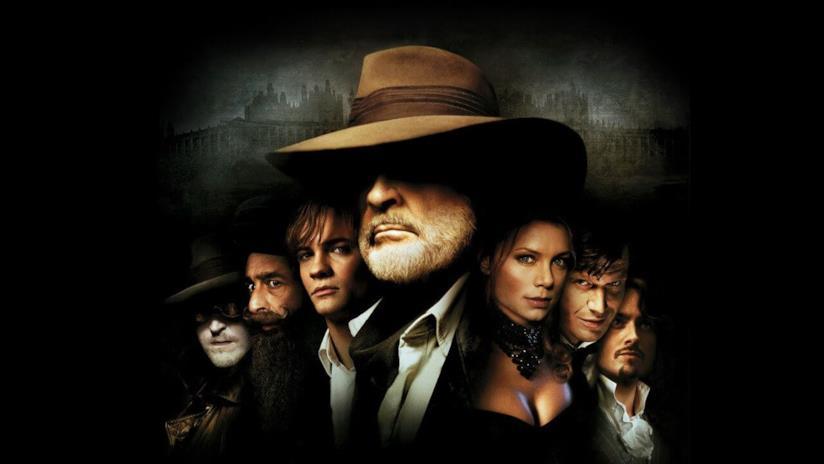 Il gruppo di eroi letterari presenti ne La leggenda degli uomini straordinari
