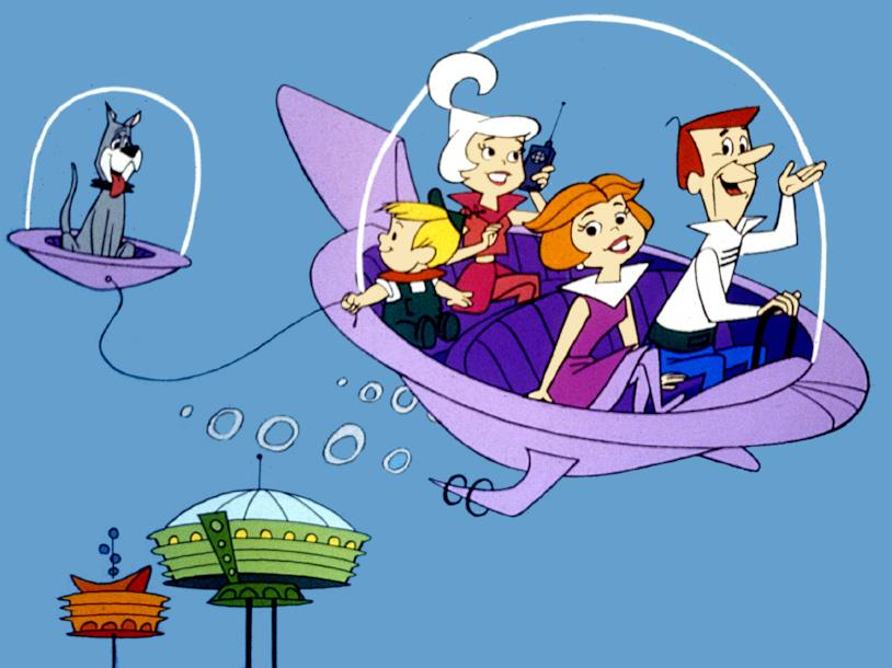 La famiglia de I Jetsons nello spazio