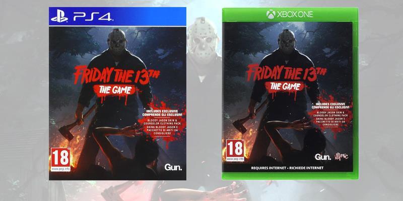 Le boxart di Venerdì 13 su PS4 e Xbox One