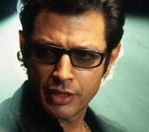 Jeff Goldblum in una scena di Jurassic Park