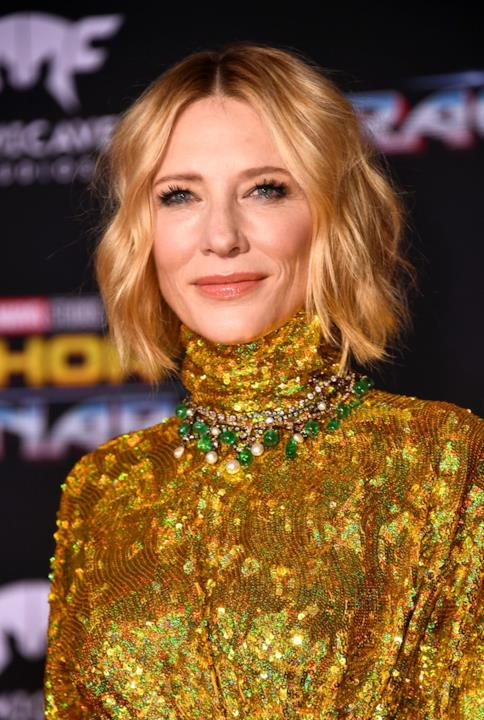 Cate Blanchett all'anteprima mondiale di Thor: Ragnarok