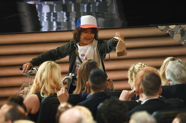 I ragazzini di Stranger Things protagonisti di una gag agli Emmy 2016