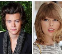 Primo piano di Harry Styles e Taylor Swift