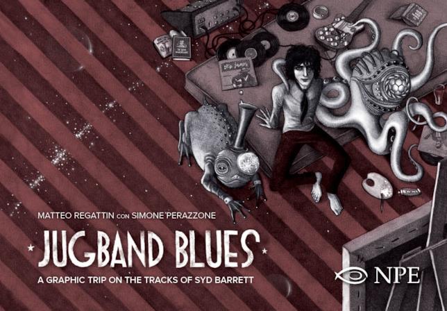 La cover di Jugband Blues, biografia a fumetti su Barrett