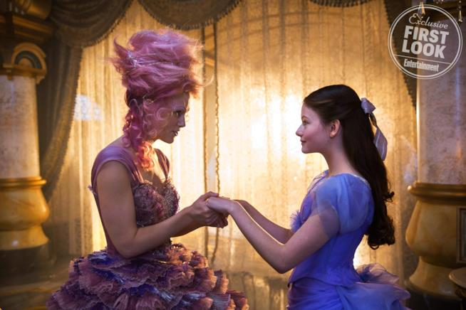 Le protagoniste di The Nutcracker and the Four Realms