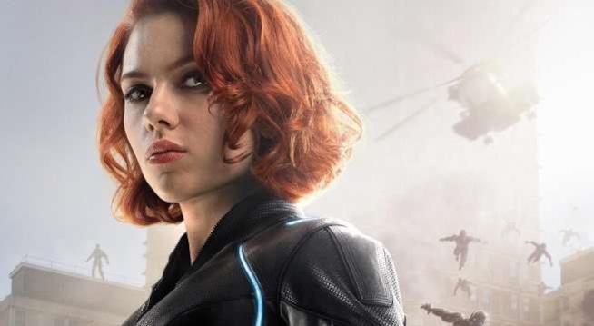 Scarlett Johansson nei panni di Black Widow