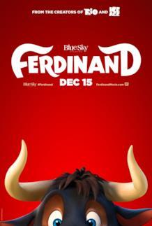 La locandina di Ferdinand, in arrivo nei cinema a dicembre 2017
