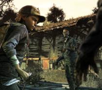 Clementine in azione in The Walking Dead: Final Season
