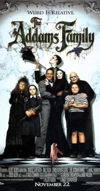 La Famiglia Addams, film 1991
