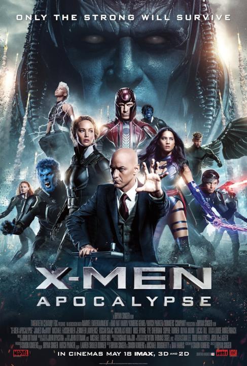 I protagonisti di X-Men: Apocalisse sono pronti allo scontro