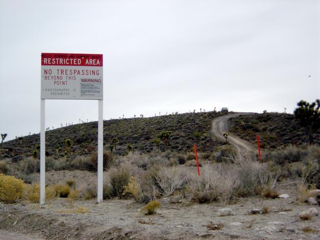 Nevada: il confine dell'Area 51