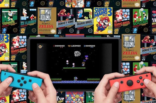 Un'immagine dei classici di Nintendo Switch Online