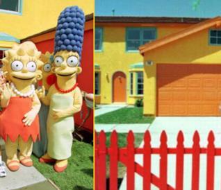 La stravagante storia della vera casa dei Simpson [GALLERY]