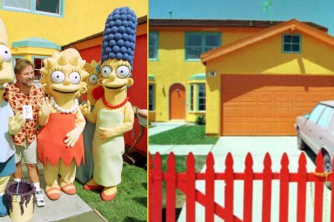 Matt Groening e la casa Simpson del mondo reale