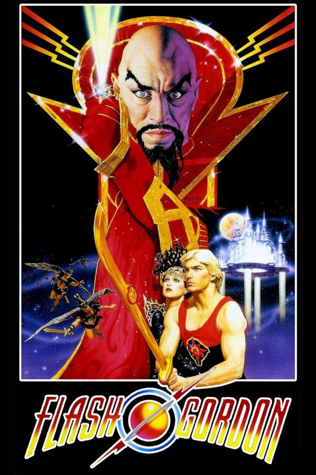Flash Gordon del 1980: la locandina