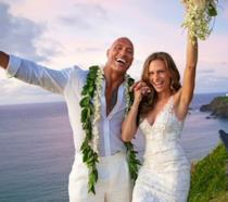 Dwayne The Rock Johnson e Lauren Hashian