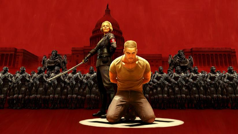 Un artwork ufficiale di Wolfenstein II: The New Colossus