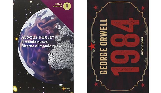 Cover di Il Mondo Nuovo e 1984