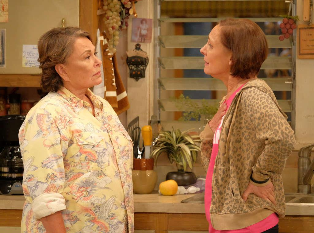 Roseanne e Jackie Harris in una scena di Pappa e Ciccia